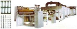 单双向塑料土工格栅生产线