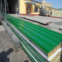玻璃丝棉防火彩钢复合板
