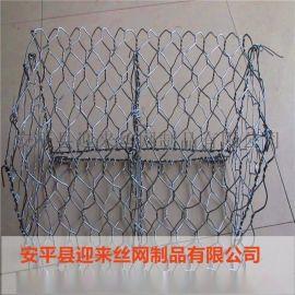 钢丝石笼网围栏 镀锌河道围栏网 防洪防汛石笼网