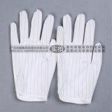 PU涂层防静电手套 条纹防静电手掌涂层手套