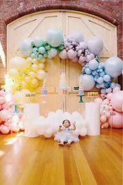昆明花語花香氣球布置裝飾
