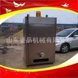 诸城糖熏炉多少钱一台全自动不锈钢烧鸡烟熏上色烘干炉