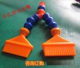直径12螺扣-扁嘴宽度50mm多孔型塑料冷却管现货