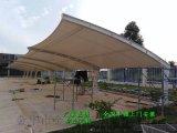 浙江汽车充电桩遮雨棚施工、嵊州自行车棚制作安装