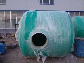 绿化化粪池构造 玻璃钢小立方化粪池 地埋消防水池