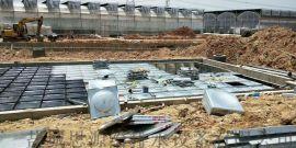 BDF装配式地上消防水池,消防恒压供水设备,地上型消防水池