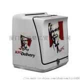 車載披薩外送箱防水減震外賣快遞送餐用的箱子尾箱