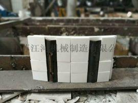 陶瓷层耐磨管道 三通陶瓷管 江河机械