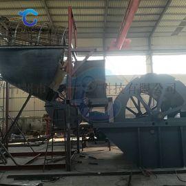 破碎筛砂洗砂生产线报价 轮式洗山砂石粉洗砂机