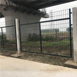 合肥厂家直销高铁防护围栏网 浸塑铁路护栏网
