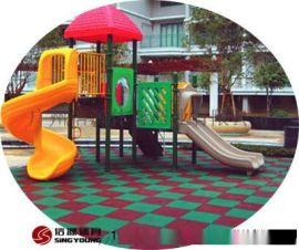 幼儿园EPDM塑胶地面铺设,材料环保耐用!