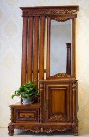 上海供应楸木家具欧式风格穿衣镜