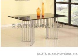 供应不锈钢大理石餐桌F885