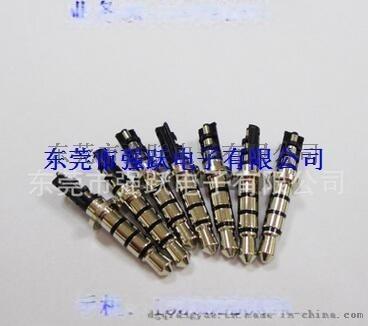 3.5立體鍍金雙聲道,3.5*6.0盤音視頻插針,盤音視頻插針