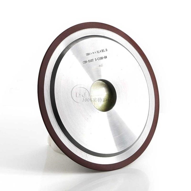 磨高速钢锯齿14F1双边加强带弧CBN树脂砂轮