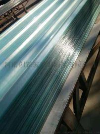 供应玻璃纤维增强聚酯复合波纹采光瓦采光板