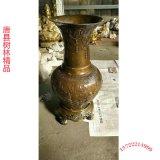 北京景泰蓝 纯手工铜掐丝珐琅 正宗景泰蓝花瓶摆件 铸铜花瓶厂
