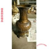 北京景泰藍 純手工銅掐絲琺琅 正宗景泰藍花瓶擺件 鑄銅花瓶廠