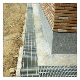 镀锌沟盖板的生产厂家 污水处理厂平台网格板水池金属盖板