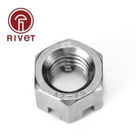 罗维特GB6178/GB6181 1型六角开槽螺母/六角开槽薄螺母