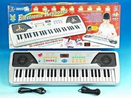 54鍵插電喇叭閃燈帶麥克風電子琴(TX9955)
