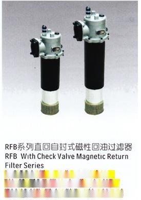 rfb直回自封式磁性回油過濾器