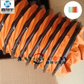 耐负压抽风管/风机抽排风管/耐高温伸缩风管/大口径通风软管200