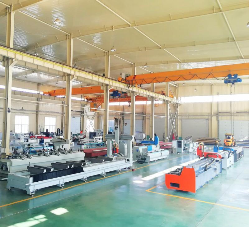 明美JGZX4-CNC-6000铝型材大型龙门四轴数控加工中心 铝工业型材复合加工中心 铝型材数控加工设备 型材加工中心