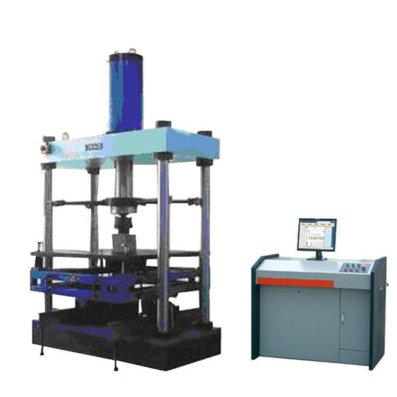 供应YAW-1000KN微机控制井盖压力试验机 铸铁井盖压力试验机