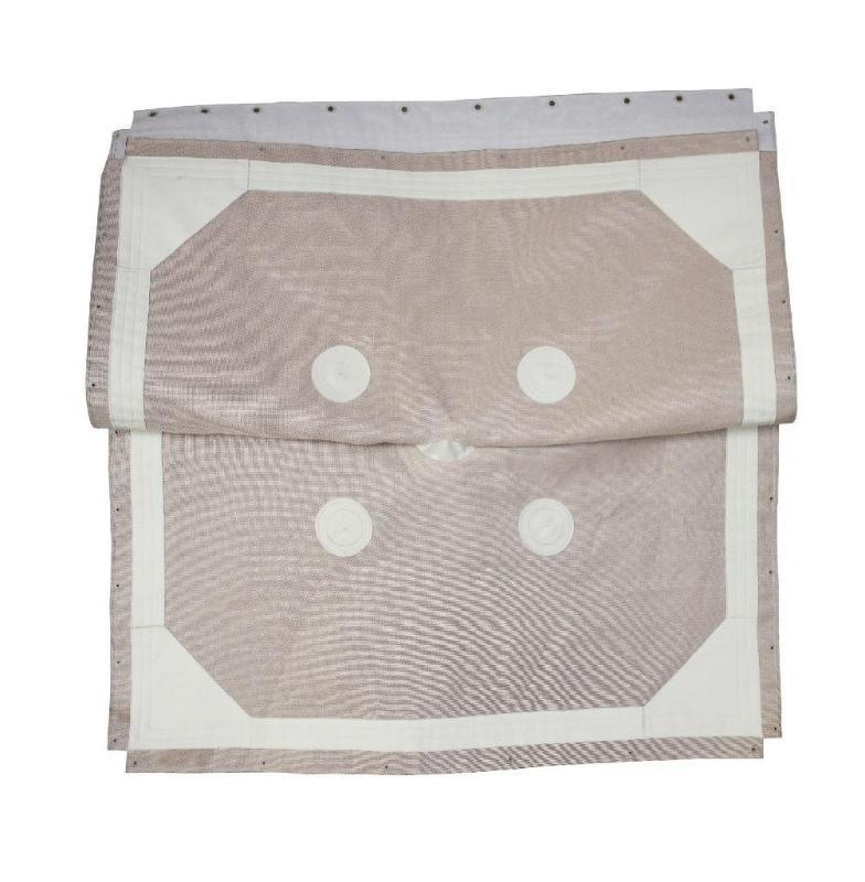 景津压滤机单丝滤布 加工滤布 尼龙滤布 涤纶滤布 单丝滤布带支撑点