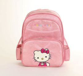 Hello Kitty儿童拉杆书包 KT猫小学生书包1-3年级