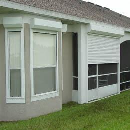 电动环保卷帘窗