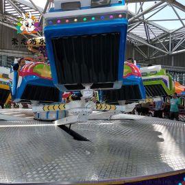 新型霹雳转盘公园游乐设备**玩法