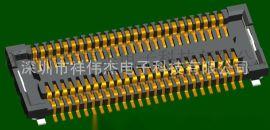 F0250精密0.4窄间距板对板连接器 BTB连接器兼容松下AXK7L50223G