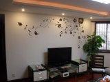 南京牆繪創意電視背景牆彩繪CH-01 手繪壁畫