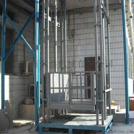 载重1吨导轨式货梯 固定升降平台 定做各种规格升降机