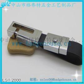 厂家定制金属圆形锌合金材质钥匙扣 卡通烤漆公仔钥匙扣