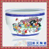 供應景德鎮青花瓷大缸 手繪陶瓷大缸