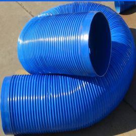 厂家加工定做 高强度吸尘管 工业排尘吸尘PVC波纹软管 含税含运