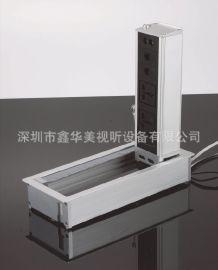 网络接口按弹桌面插座(BTD-001)