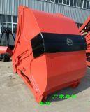 3立方 重型 U7四繩抓鬥 滑輪φ610 鋼繩φ21.5 匹用15T天車