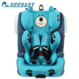 REEBABY儿童车载安全座坐椅3Cisofix9个月12周岁婴儿宝宝小孩汽车