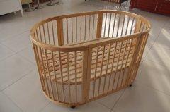 新品特献 厂家直销 椭圆型围栏床 可变书桌和沙发! 多功能婴儿床