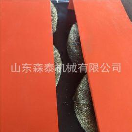 供应钢筋角铁圆管表面抛光除锈机 多功能除锈机 废旧钢筋打磨机厂