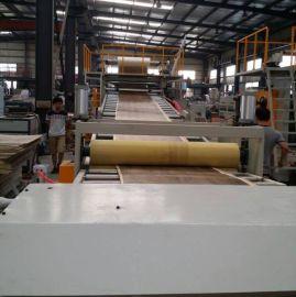 金韦尔PVC商用/民用地板挤出生产线设备