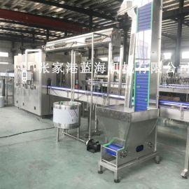液体灌装机全自动三合一饮料灌装设备瓶装矿泉水纯净水灌装生产线