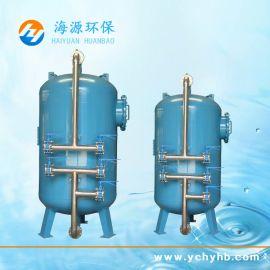 海源安装石英砂过滤器,石英砂过滤环保污水处理设备
