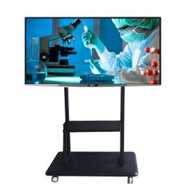 新品电视机支架 显示屏触摸一体机支架32-84寸医用大屏移动推车