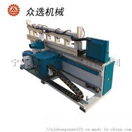 全自动木工验缝修边机实木门拼板机