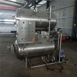 双层水循环式杀菌锅 喷淋式柔和灭菌设备 可用于海鲜贝类的灭菌